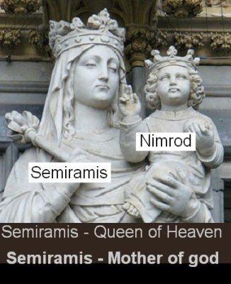 Semiramis_queen & Nimrod