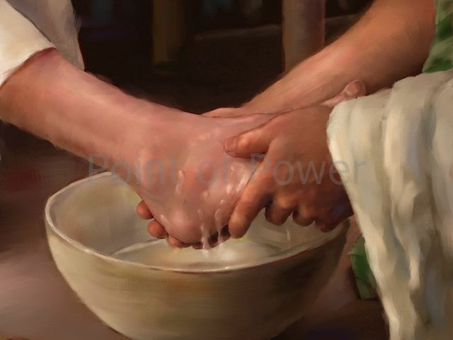 jesus wash his disciples feet