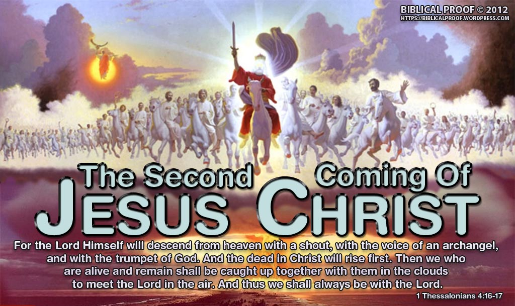 Image result for images of the second coming of Jesus